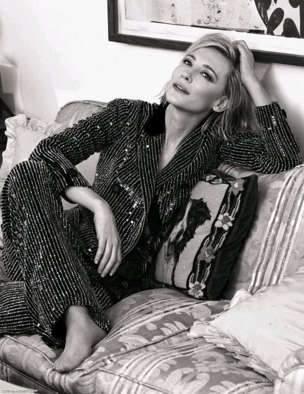 Кейт Бланшетт для Vanity Fair  Italy