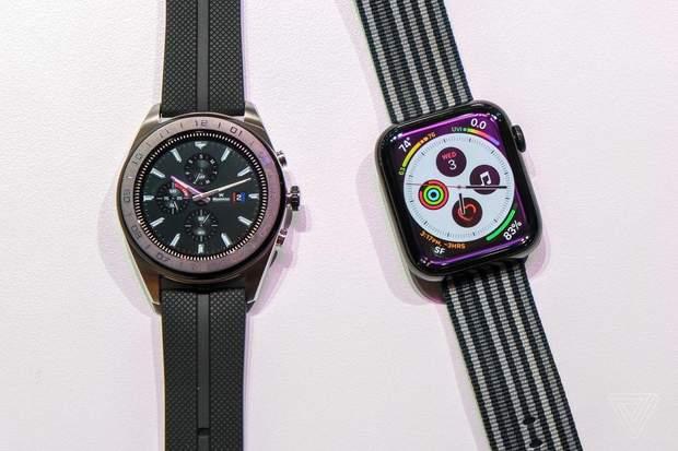 Смарт-годинник LG Watch W7. Порівняння LG Watch W7 та Apple Watch Series 4 6742da544b897