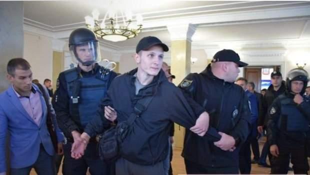 поліція Миколаїв мерія сутичка