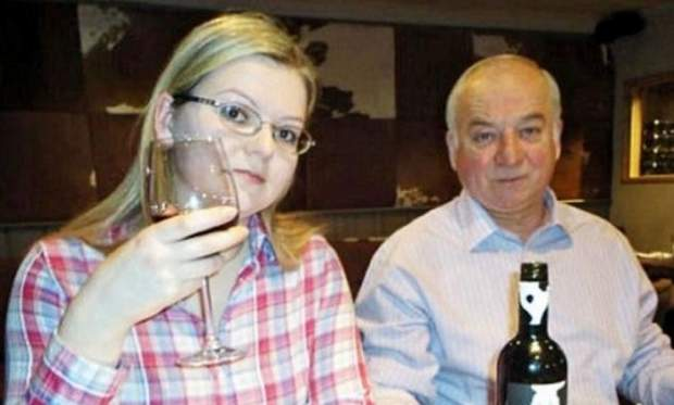 Сергій Скрипаль з донькою