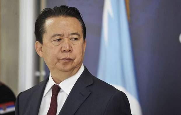 Президент Інтерпол Мен Хунвей зникнення Китай Пекін