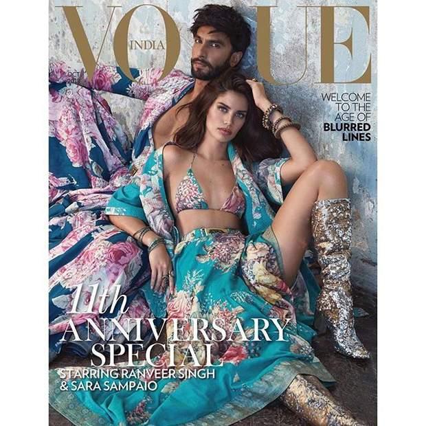 Ранвір Сінгх і Сара Сампайо / Vogue India