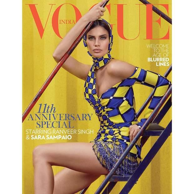 Сара Сампайо / Vogue India