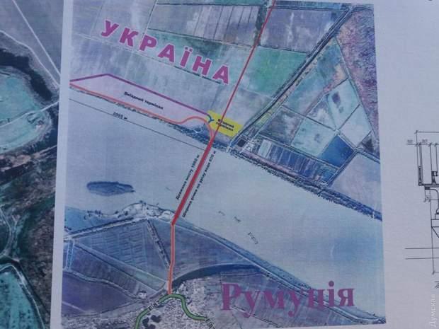 Міст Дунай Україна Румунія