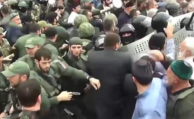 протести інгушетія