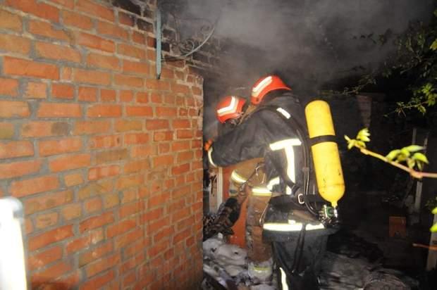 Пожежа в житловому будинку в Кропивницькому