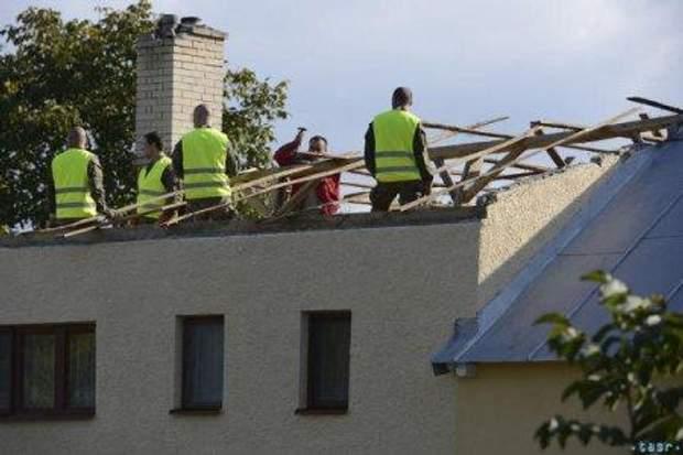 Закарпаття Словаччина буря ураган торнадо