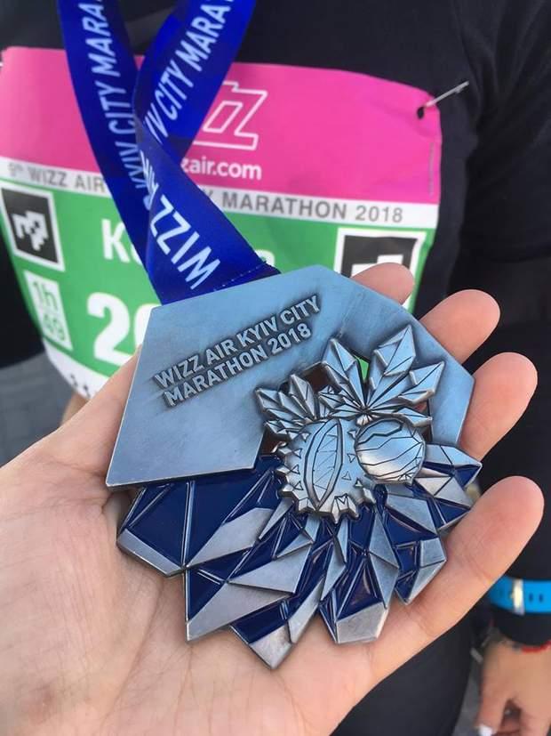 Новий дизайн медалі марафону