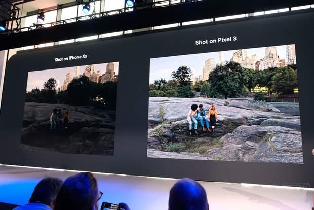 Фото зроблені на iPhone Xs та Google Pixel 3