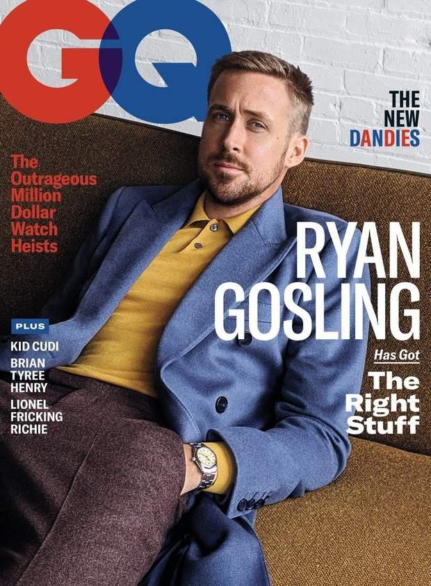 Раян Гослінг для GQ