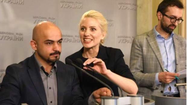 Мустафа Найєм, Світлана Заліщук та Сергій Лещенко