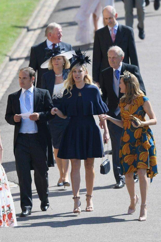 Челсі Деві на весіллі принца Гаррі і Меган Маркл
