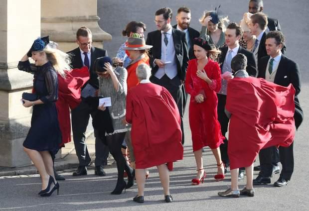 Челсі Деві на весіллі принцеси Євгенії (