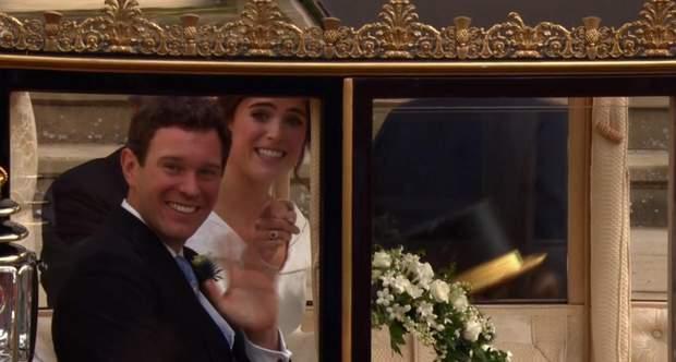 Перший вихід в роді подружжя принцеси Євгенії та Джека Бруксбенка