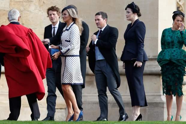 Кейт Мосс на весіллі принцеси Євгенії