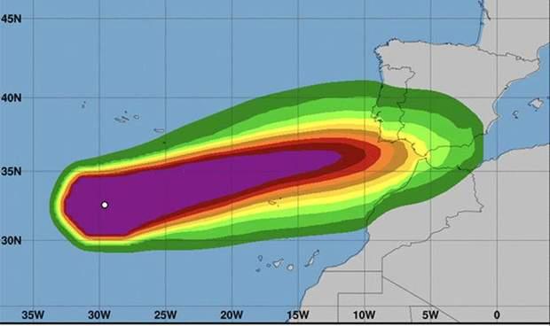 Європа ураган