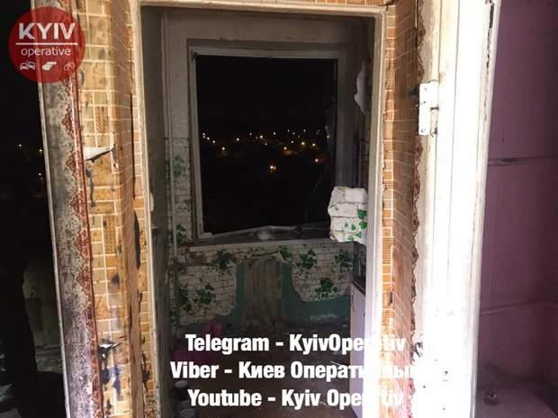 Взрыв, Борщаговка, Киев, алкоголь, потерпевшие, квартира