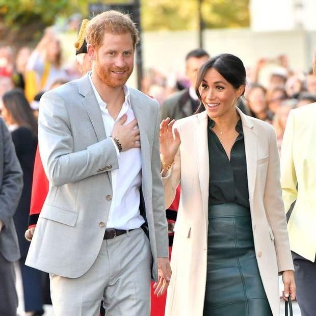 Принц Гаррі та Меган Маркл вирушили на вечірку в Амстердамі