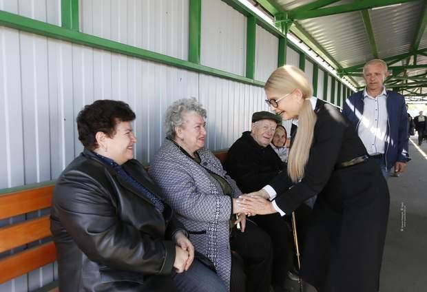 Тимошенко, Донбас, Батьківщина