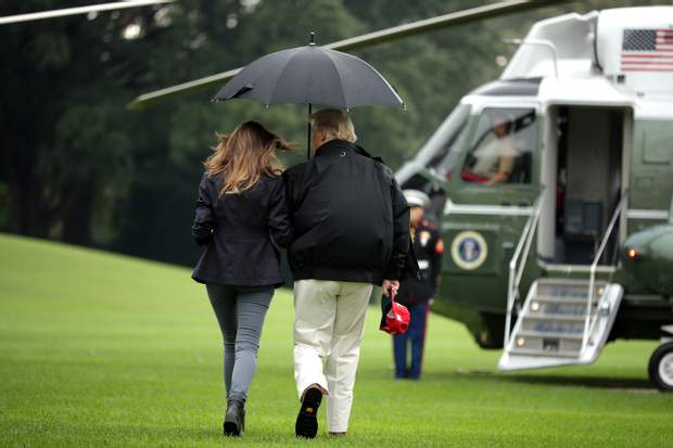 Меланія і Дональд Трамп / Getty