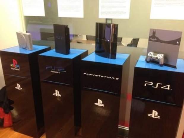 Різні покоління Sony PlayStation