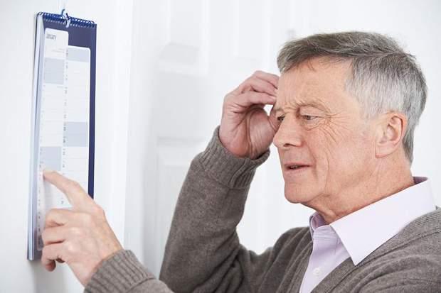 Старече недоумство виникає не через спадковість