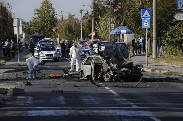 автомобіль вибух машина Сербія