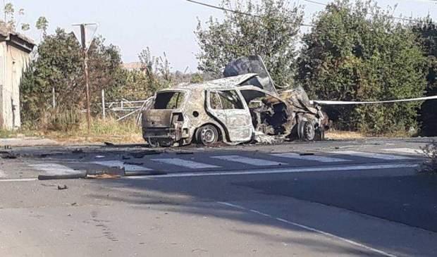 Сербія автомобіль пожежа вибух