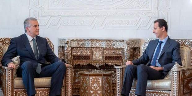 Асад Аксьонов Крим Сирія