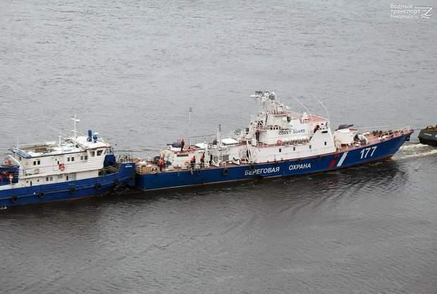 Кизляр, ПСКР-921 (б/н 177), корабель, морський транспорт, Азовське море, Росія, конфлікт