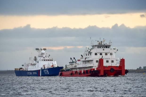 Сиктивкар, ПСКР-920 (б/н 178), корабель, морський транспорт, Азовське море, Росія, конфлікт