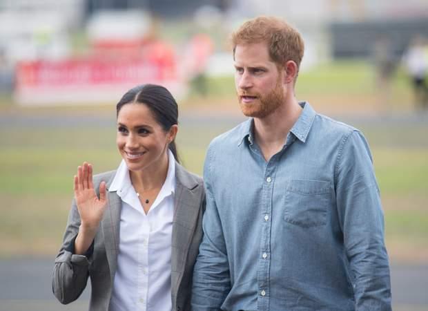 Вагітна Меган Маркл і принц Гаррі в Австралії