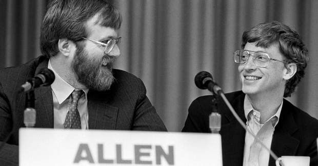Давні друзі Пол Аллен та Білл Гейтс