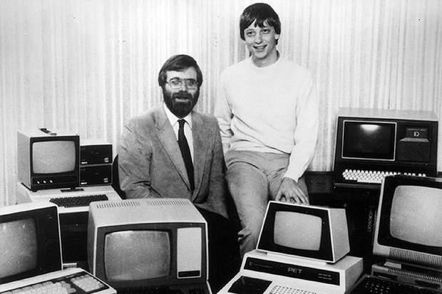 Юні Пол Аллен та Білл Гейтс