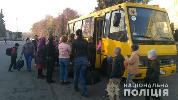 Дітей з постраждалої території відправили у санаторій