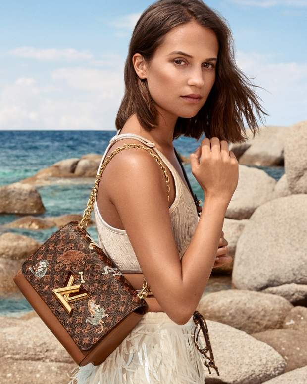 Алісія Вікандер для Louis Vuitton