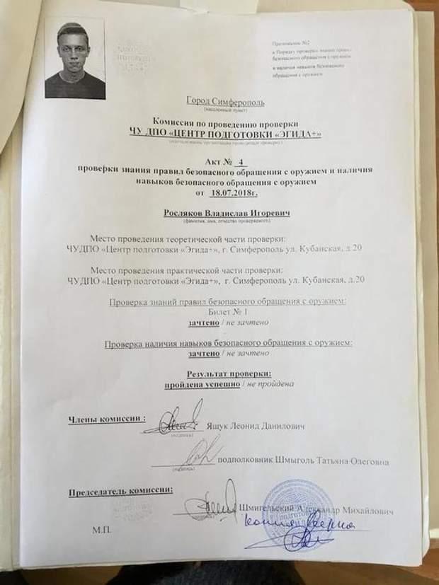 Керч коледж Росляков стрільба