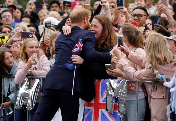 принц Гаррі турне Австралія