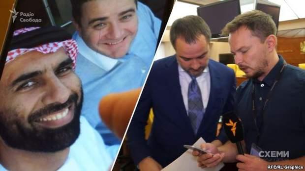 Андрій Павелко зустрівся із номінальним директором арабського офшору на території ОАЕ