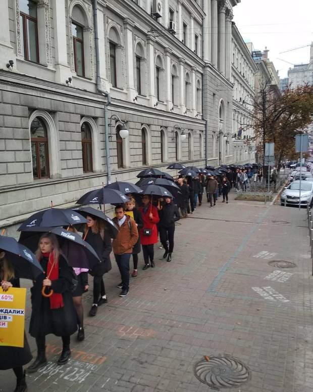 Акція до Дня боротьби з рабством в Києві