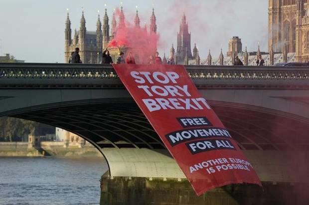 Протести в Лондоні через Brexit