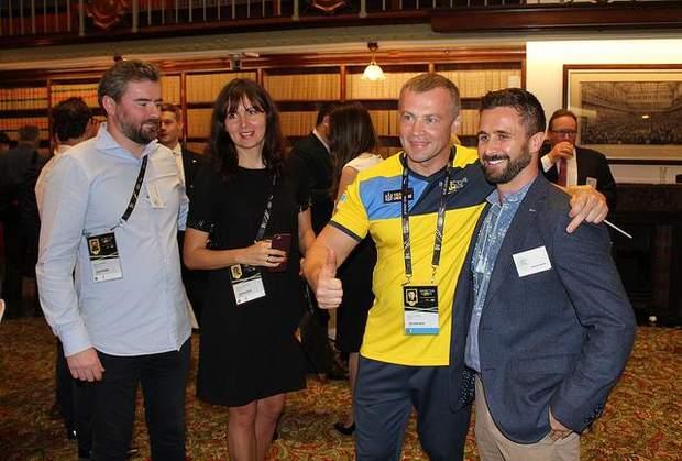 Сергій Ільницький на зустрічі з українцями в Австралії
