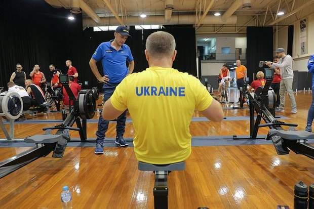 Сергій Ільницький на тренуванні