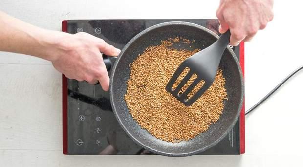 Рецепт приготування корисної гречки