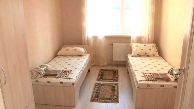 Спальня для дітей з черкаського дитбудинку