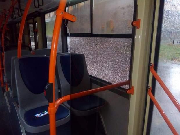 В Дніпрі обстріляли тролейбуси