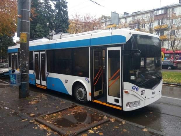 Обстріл тролейбусів у Дніпрі