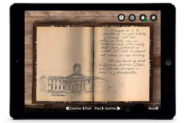 Сторінка з щоденника Артура Моргана