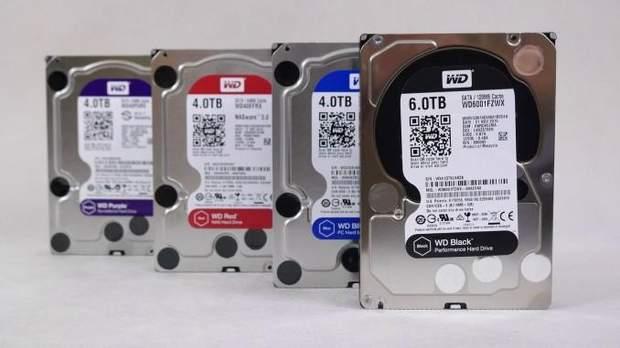 Жорсткі диски компанії Western Digital