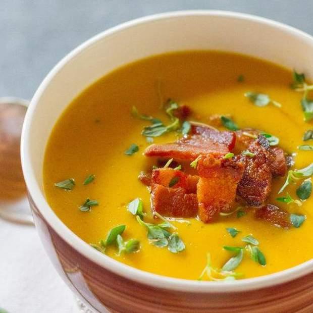 Рецепт гарбузового крем-супу